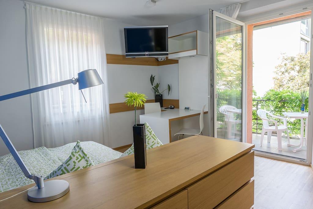 1 zimmer libelle mit balkon zentral ruhig wohnungen zur miete in konstanz baden. Black Bedroom Furniture Sets. Home Design Ideas