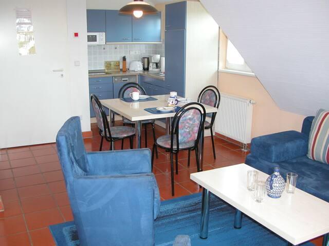 Ferienwohnung/App. für 4 Gäste mit 40m² in Dranske - Bakenberg (47251)