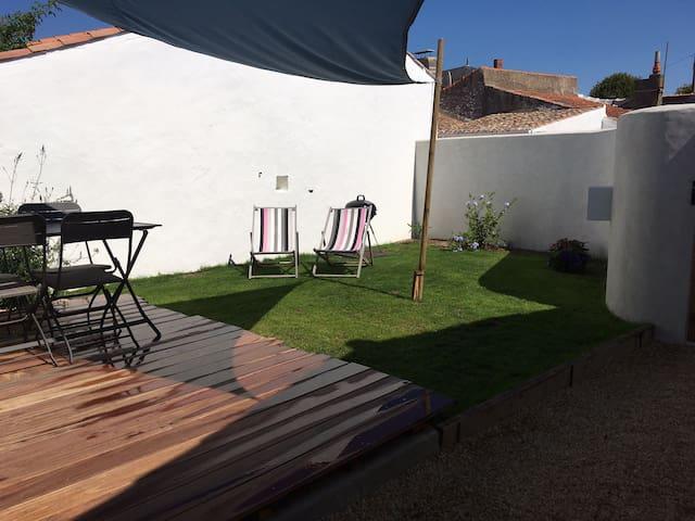 Joli studio avec jardin centre-ville Noirmoutier