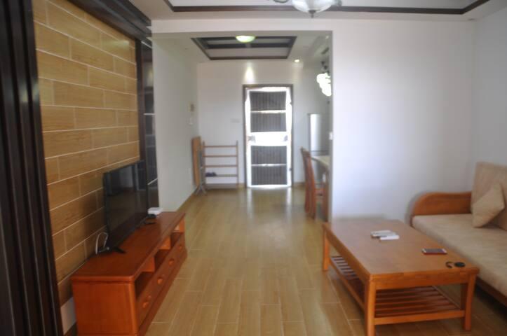 博鳌香槟郡两房整租  阳台直接看海 毗邻玉带滩、海的故事A14