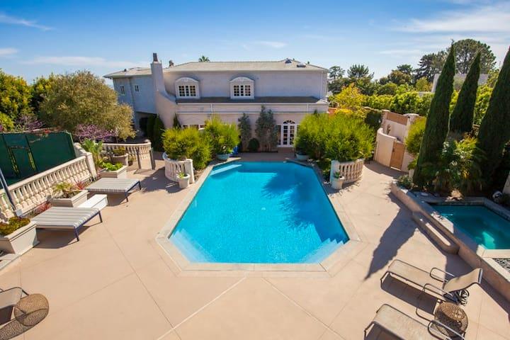 """""""Beverly Hills Style"""" Elite Mansion - La Jolla - San Diego - Villa"""