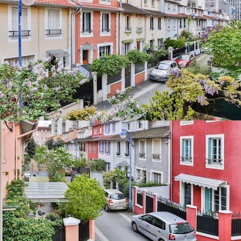 Une maison de campagne à Paris ! - Clichy - House