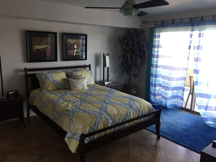 Master Bedroom (with blackout shades)