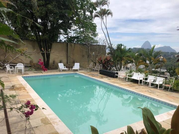 Melhor vista da cidade Pousada Belle de Jour, Rio