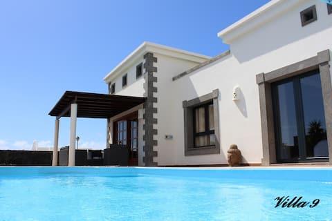 Luxueuse villa indépendante Pool 29°-Tv Sat, Wifi