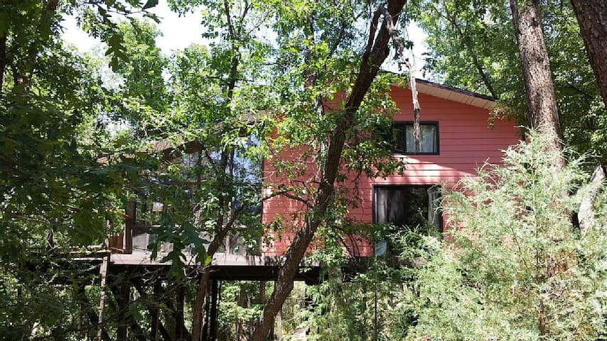 Paradise on the river in the oaks and pines - Payson - Vacation home