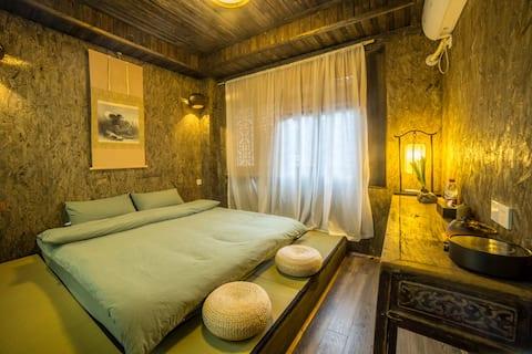 三昧禅居内景观大床房,纯中国风,纯古风大床房