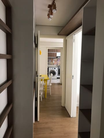 350m Shopping Moinhos: 2 quartos/3pess/wifi/split