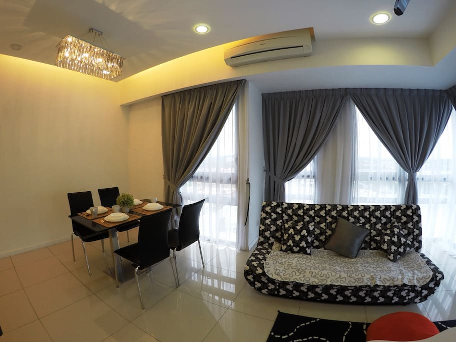 Living Area + Dining