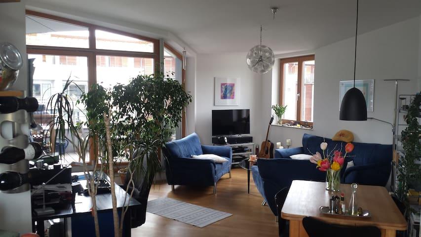 Schöne Wohnung am Düsseldorfer Medienhafen