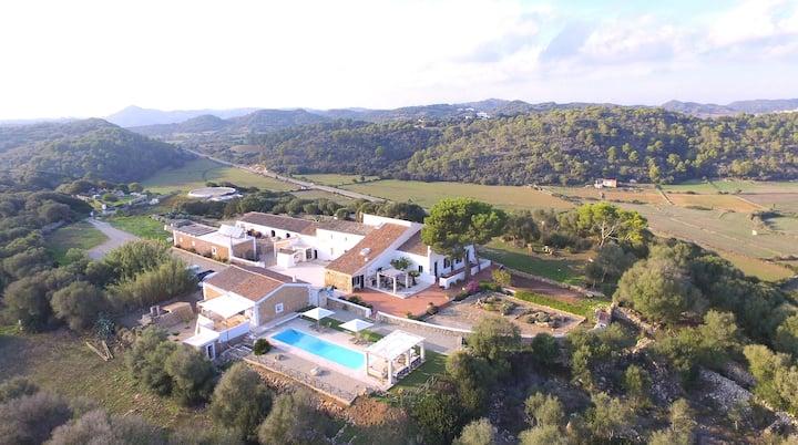 Habitación en ECO hotel rural Menorca