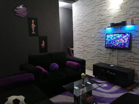 Entire cozy 1 bedroom apt with unlimited Wifi