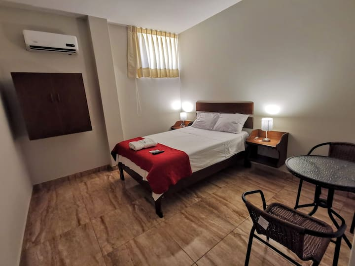 Palmera Verde🌴,Habitación de luxe con a/c y garaje