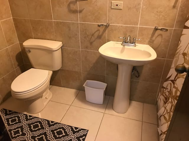 Bathroom connected to bedroom 5