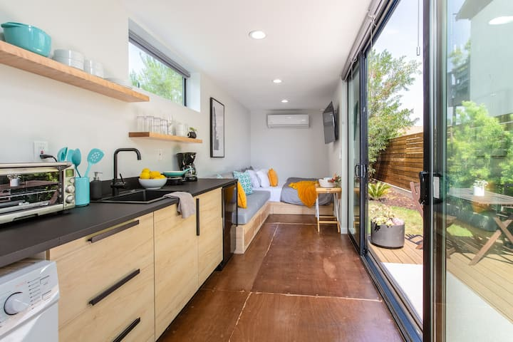 Modern Studio ★ Container Home w/ Private Yard