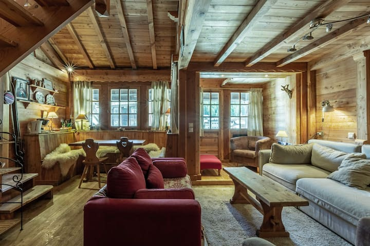Ski-in/Ski-out apartment with parking space right in the heart of the village