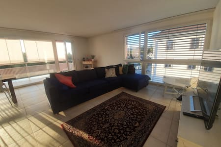 Modern, spacious appartment with beautiful view!