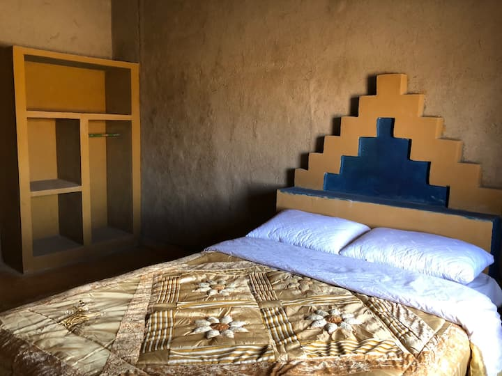 Private Room at Merzouga. Just beside the dunes
