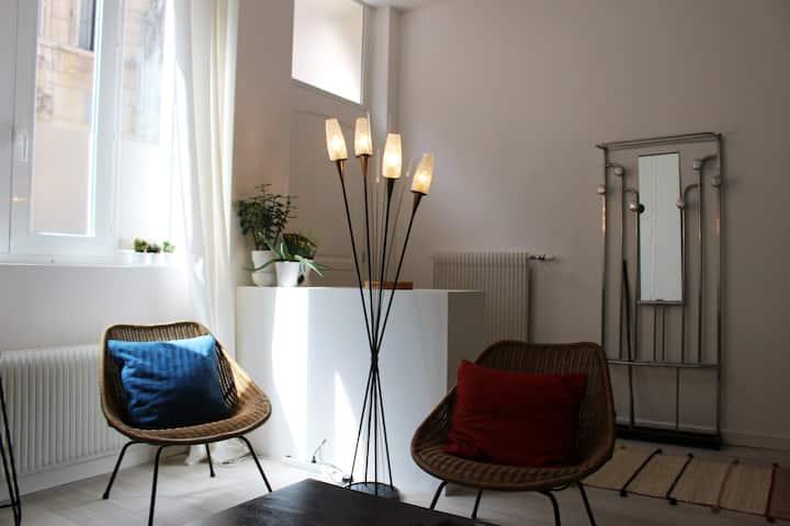 Appartement de 60 m2 dans le centre historique.