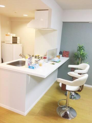 Ginza kachidoki guest room银座の勝どき,筑地市场近边,移动wifi有り!