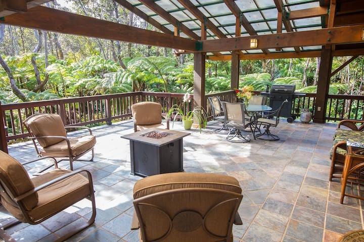 Hale Mauna Loa Volcano Vacation Home Upper Level
