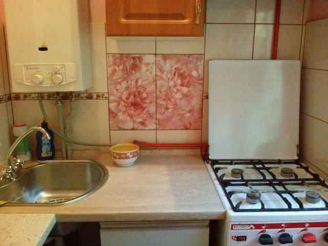 Предлагаю теплую,тихую,хорошую квартиру для гостей - Donetsk - Leilighet