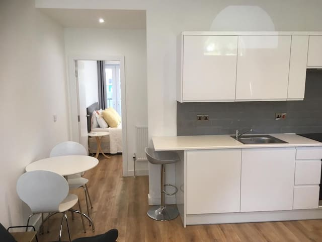 Newly Refurbished City Centre Flat With Parking