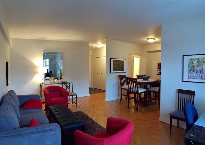 Elegant 1-bedroom apt. in Westmount.