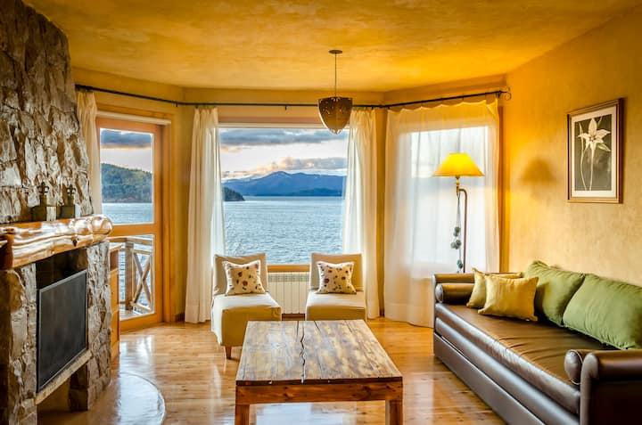 """Suite """"Bosque"""" B jacuzzi, balcón, piscina y playa"""