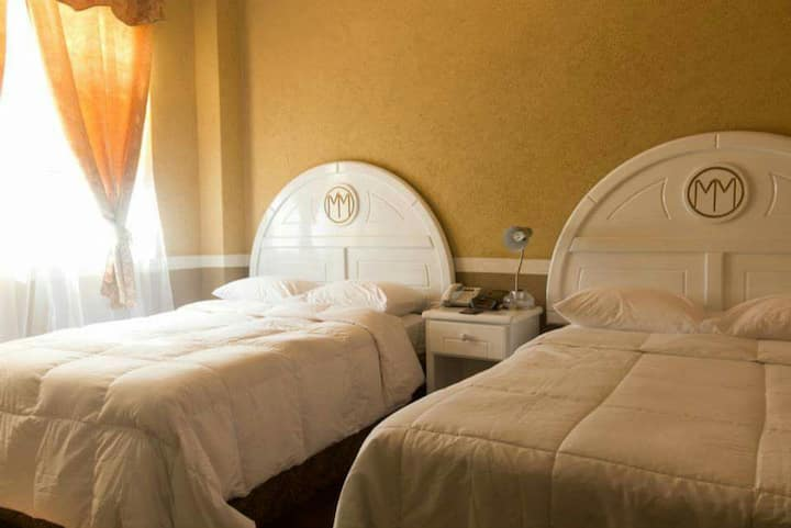 Double Occupancy 2-Full Size Beds