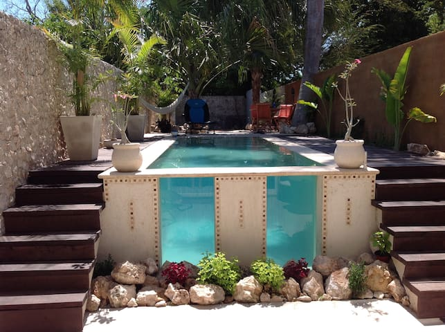 Merida with Roof Top Terrace & Pool - Mérida - House
