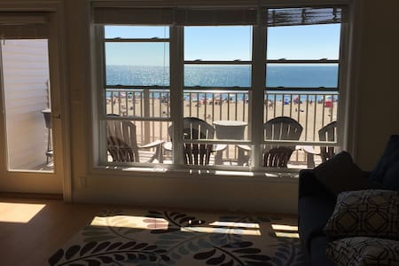 Spectacular Views From Beachfront Condo - Hampton - Huoneisto