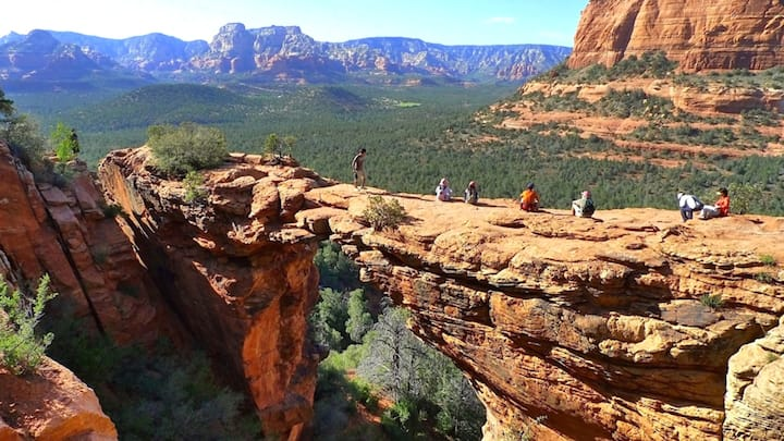 Sedona at its best! 2BDR lock-off for 8. From $269