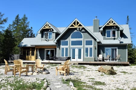 Luxury Custom Designed Cottage on Lake Huron