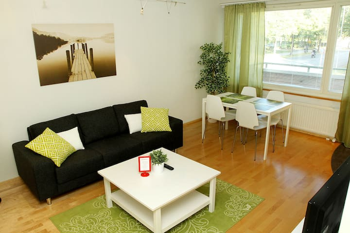 Fresh 1 bedroom apt for 1-2 persons - Joensuu - Lägenhet