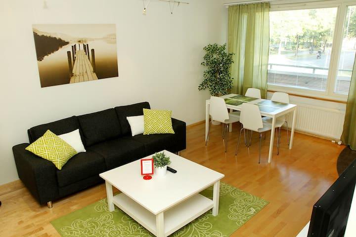 Fresh 1 bedroom apt for 1-2 persons - Joensuu - Wohnung