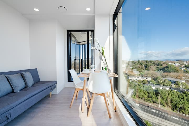 Studio Apartment with Amazing View Auckland CBD