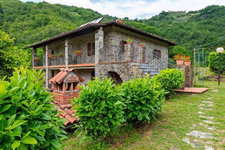 Classy Farmhouse in Fosciandora with Swimming Pool