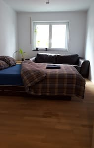Lovely guest room in private apartment near RV - Ravensburg