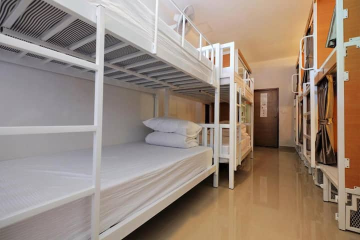 Nice Mixed Dormitory (Double) at Phuket Numnoi