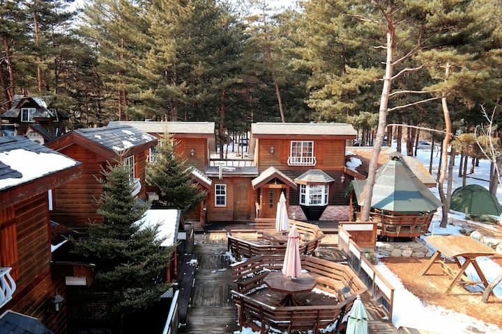 艺术中岛-度假小镇 - Bongpyeong-myeon, Pyeongchang-gun - Rumah