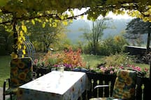 Schönes Ferienhaus mit grossem Garten