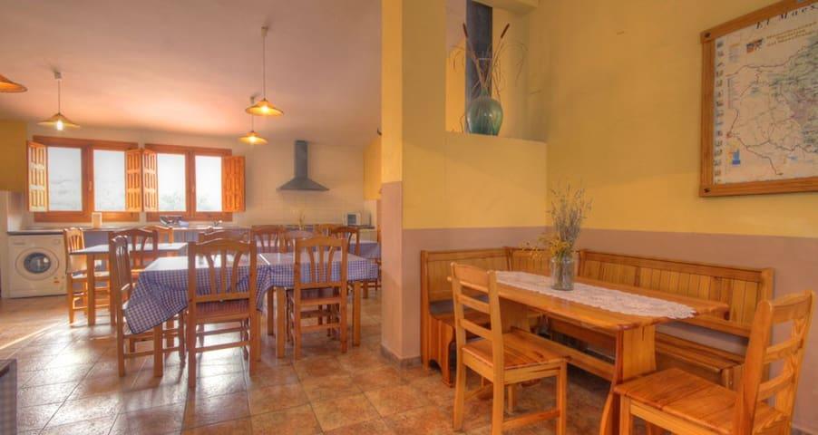 Barrrac de la Serra- Habitación doble/familiar nº3 - Fuentespalda - Casa