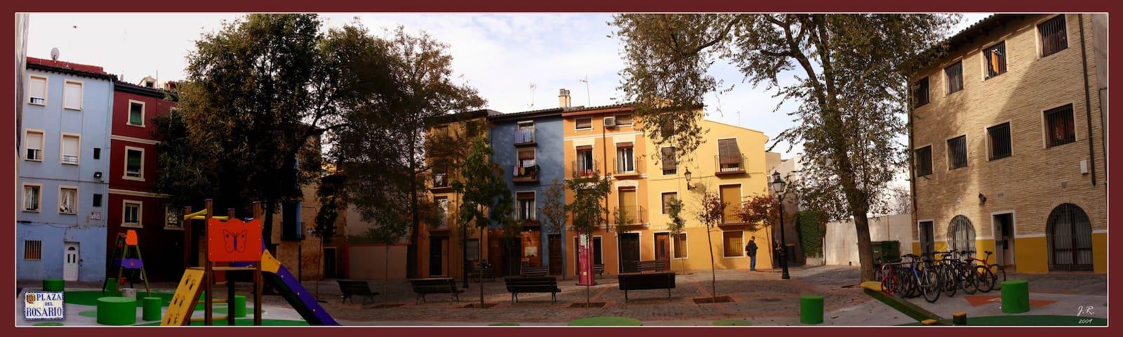 Casa centrica del siglo XVII - Zaragoza - Rumah