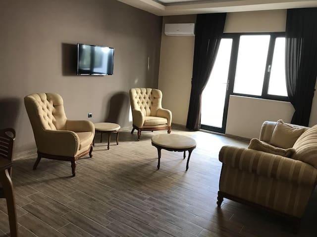 Bahce Kati 2 Yatak Odali Daire - Hayal Residence Apart Otel