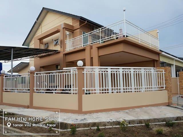 Fah Hin Home Stay Papar (Taman Vila Mutiara Papar) - Papar - House