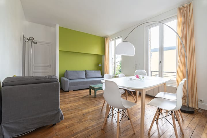 Charming, spacious & bright T4 - entrance of Paris
