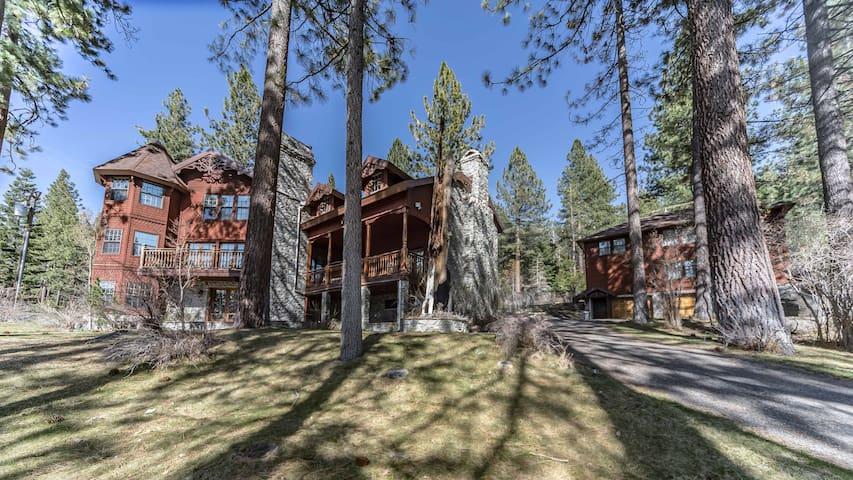 Lake Tahoe Luxury Mansion 10,000 Sq. Ft. Luxury