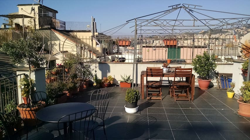 Beautiful Terrace in San Lorenzo