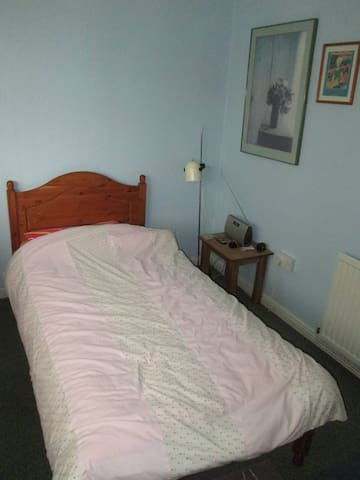 Quiet, clean single room. Ground floor & parking. - Saint Asaph - House
